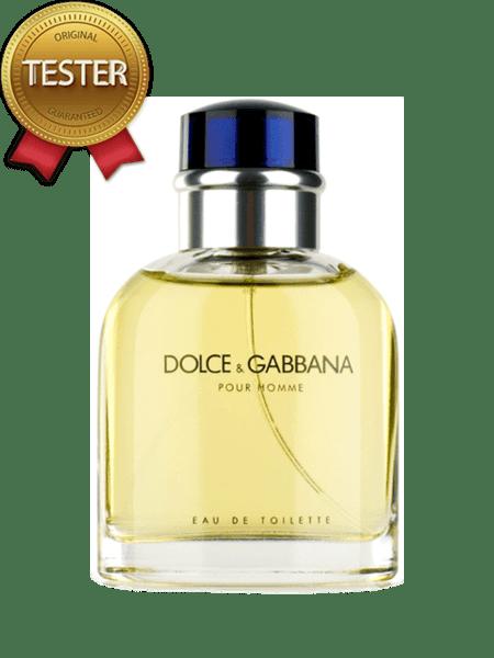 Dolce & Gabanna Pour Homme EDT 125мл - Тестер за мъже
